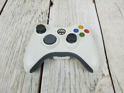AU35 • Buy Genuine XBOX 360 Controller White XBOX360 Free Tracked Shipping Tested & Working