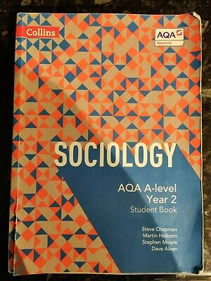 £15 • Buy Collins Sociology AQA A-level Year 2 Student Book