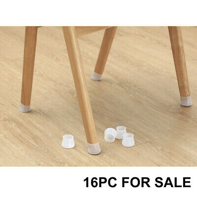 AU10.71 • Buy 16X Silicon Furniture Leg Protection Cover Table Chair Feet Pad Floor Protectors