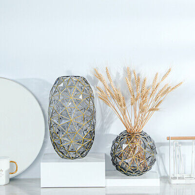 £18 • Buy Table Glass Vase For Flowers Decorative Crystal Vase