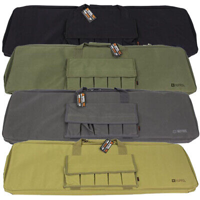 £22.99 • Buy Nuprol PMC Essentials Airsoft Rifle Bag Soft Carry Case 42  Magazine Pouch