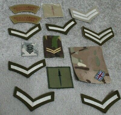 £19.95 • Buy Vintage Army Patch Badges Royal Marines Commando British Patches Dagger