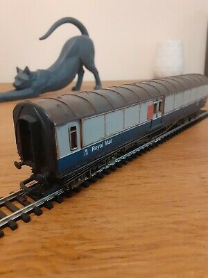 £7 • Buy Hornby BR Royal Mail TPO Coach For OO Gauge Weathered Unboxed