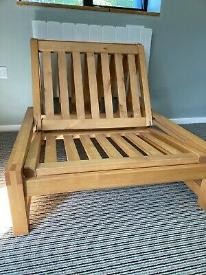 £250 • Buy Wooden Futon Sofa Bed By Futon Company, Light Hardwood Base Only. Barely Used.