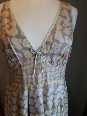 £10 • Buy Nougat London Size 3(12-14)  Silk, Lined Fit Flare Excellent Condition