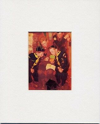 $ CDN18.19 • Buy Norman Rockwell Boy Scout Print THE RIGHT WAY 1955