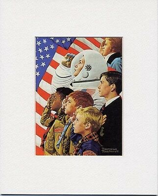 $ CDN19.99 • Buy Norman Rockwell BSA Print CONCORD TO TRANQUILITY 1973