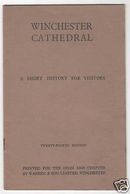 Winchester Cathedral - Guide C1950 / Booklet • 7.50£