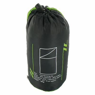 £10.99 • Buy Poly Cotton Sleeping Bag Or YOUTH HOSTEL Rectangular LINER ( Travel Camping