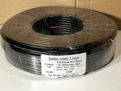 AU185 • Buy Trailer Wire 7 Core - 100 Meter Roll.