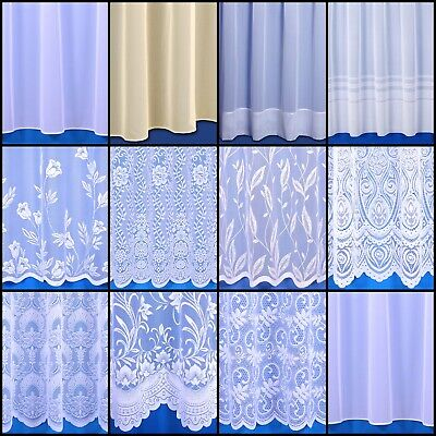 £2.20 • Buy Choice Of Contemporary Net Curtains Sold By The Metre - Free Postage