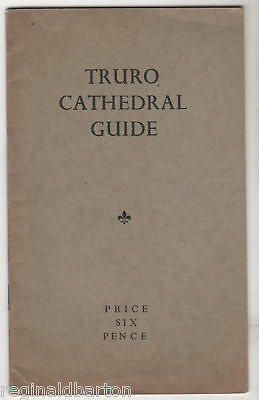 Truro Cathedral Guide - 1948 Booklet / Cornwall  • 10£