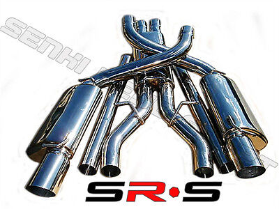 $699.16 • Buy SR*S 3  Stainless Steel CATBACK EXHAUST 05 06 07 08 09 10 DODGE CHARGER 6.1L V8