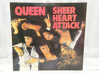 Queen - Sheer Heart Attack 12  Lp 1974  • 30£