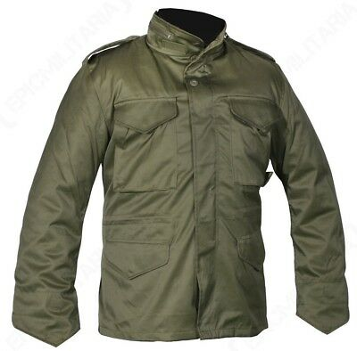 AU99.50 • Buy Olive Camouflage M65 Field Jacket - US Army Military Parka With Winter Liner