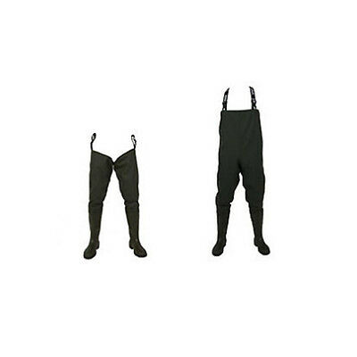 Vass-Tex Childrens Waders / Chest & Thigh / Studded & Non / Sizes 3, 4, 5 • 51.98£