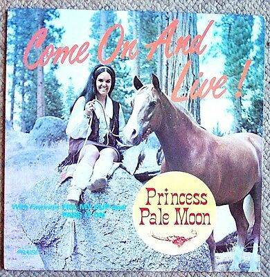 £8.66 • Buy Princess Pale Moon Come On And Live! LP Autographed Praise PRS 211 Very Clean