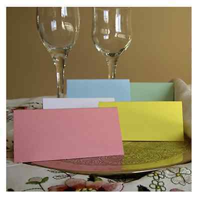 £1.91 • Buy Wedding Party Meal Table Place Setting Name Cards Birthday Anniversary Blank