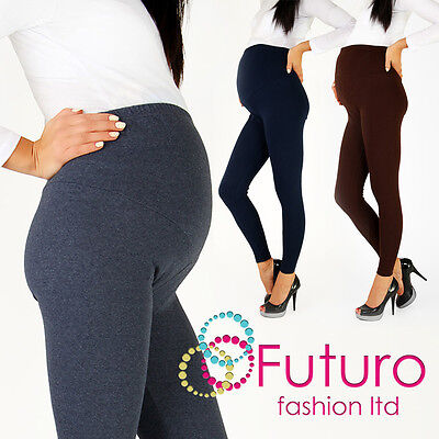 £7.25 • Buy Thick Heavy & Warm Maternity Cotton Leggings Ankle Length PREGNANCY