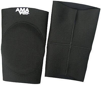 $74.99 • Buy AMA Black Alternate Knee Pads Small, Wrestling Pro MMA Football Judo Jui Jitsu S