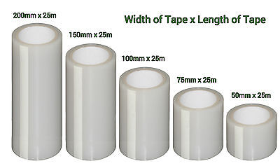 Extra Strong Polytunnel / Greenhouse Repair Tape | Polythene | Clear • 24.99£