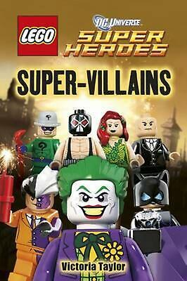 AU17.35 • Buy LEGO DC Super Heroes Super Villains By Victoria Taylor (English) Hardcover Book
