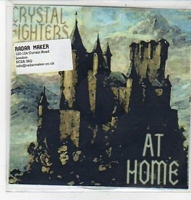 (CZ230) Crystal Fighters, At Home - 2011 DJ CD • 2.99£