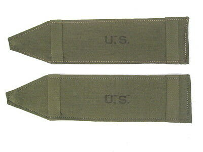 $19.99 • Buy WWII US Army M1936 Or M1944 Suspenders - Shoulder Pad Set- Dated 1945 - Unissued