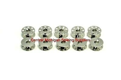 10 New Sewing Machine Bobbins For Adler Necchi Viking Rotary Hook #55623ns • 7.99$