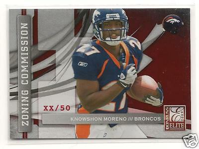 $12.99 • Buy Knowshon Moreno 2009 Donruss Elite National Issue /50