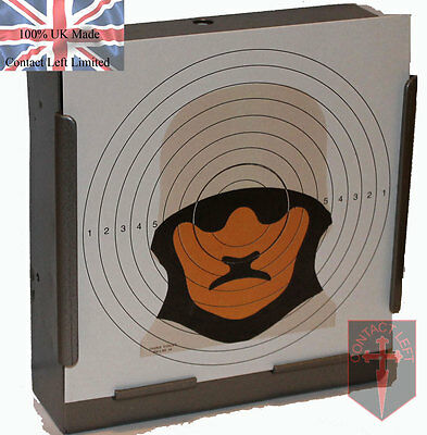 £2.99 • Buy 100 Military Figure 14 Sniper Paper Targets 14cm Airsoft Air Rifle (100gsm