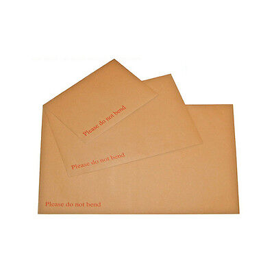 £59.99 • Buy A3 A4 A5 A6 Hard Board Backed Envelopes (MANILLA)Please Do Not Bend MULTILISTING