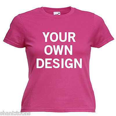 Personalised Hen Night Party Ladies Lady Fit T Shirt 13 Colours Size 6 - 16  • 9.45£