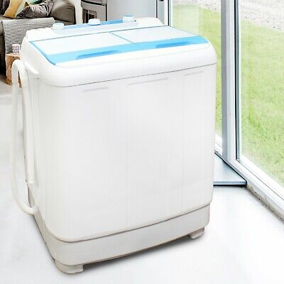 £159.99 • Buy Washing Machine Twin Tub Compact 4.8kg Portable Washer Spin Dryer Electric Drain