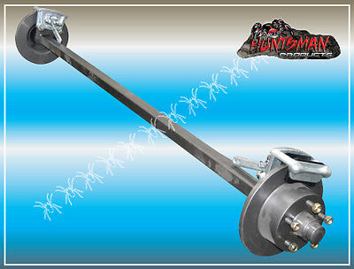 AU420 • Buy MECHANICAL DISC BRAKED TRAILER AXLE 45MM SQUARE. 1400KG Camper/caravan Part