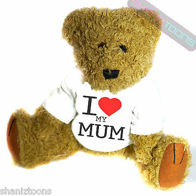 I Love My Mum Novelty Gift Teddy Bear • 14.32£