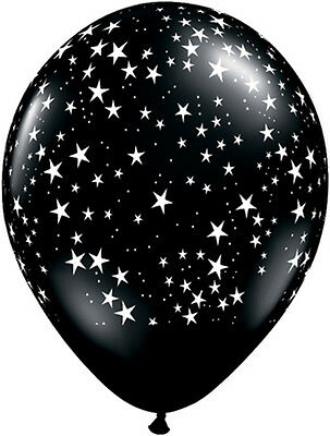 £5.10 • Buy 10 Black White Star Helium/Air Balloons Hollywood New Year Party Prom Decoration
