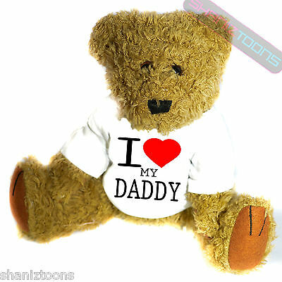 I Love My Daddy Novelty Gift Teddy Bear • 14.32£