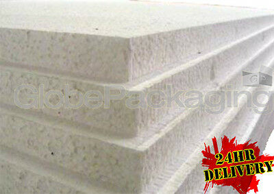 £86 • Buy 12 X EXPANDED 1  POLYSTYRENE FOAM SHEETS 2400x1200x25mm