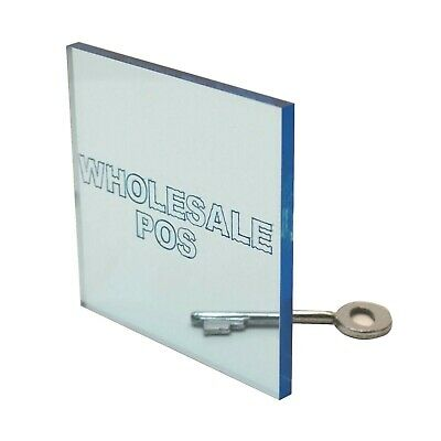 £3.35 • Buy Light Blue Tinted Perspex® Acrylic Sheet / 3mm Thickness / Custom Cut To Size