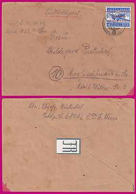 £435.65 • Buy GREECE GERMANY CRETE COVER  INSELPOST  With  FELDPOST  RARE SIGNED MOGLER