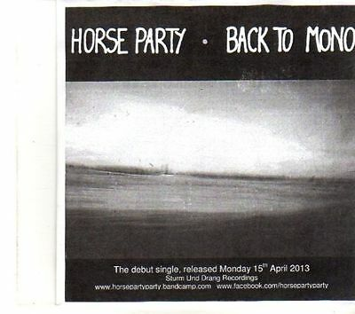 £2.99 • Buy (DR487) Horse Party, Back To Mono - 2013 DJ CD