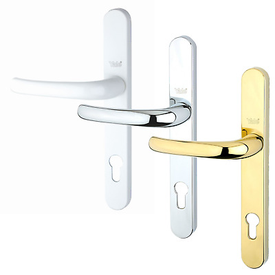 Yale UPVC Door Handle PVCU Long 92mm Centres Euro Profile Lever Lock 215mm • 19.95£