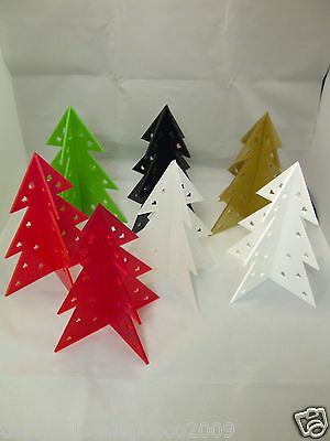 Christmas Tree Table Decoration Celebration Centre Piece In Laser Cut Acrylic • 7.63£
