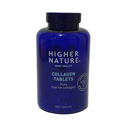 Higher Nature Collaflex Pure Marine Collagen 700mg 180 Tablets • 30.22£