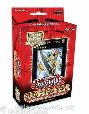 £10.09 • Buy YuGiOh! Starter Deck: Dawn Of The Xyz 1st Edition - Sealed Cards Only, No Box!