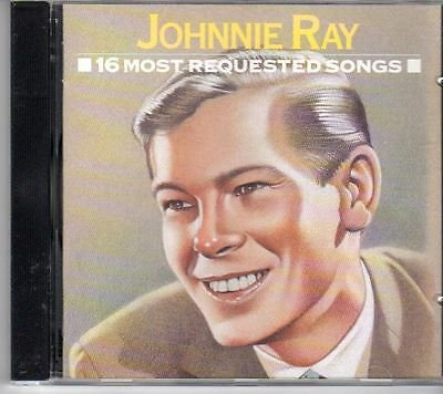 (DV899) Johnnie Ray, 16 Most Requested Songs - 1991 CD • 4.99£