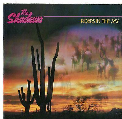 The Shadows - Riders In The Sky 7  Single 1980 • 12£