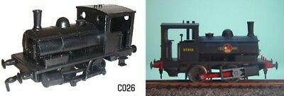 Dapol C026 0-4-0 LMS Pug Locomotive 00 Gauge New Plastic Kit - 1st Class Post • 10.99£