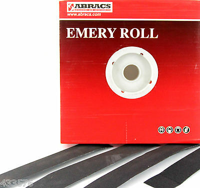 £26.82 • Buy CLEARANCE EMERY ROLL 38 Mm X 50 Mtr Roll All Grits Paper Sandpaper Metalworking